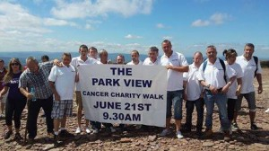park view cancer charity walk