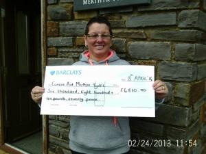 Linda Martin cheque